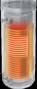 Calentador de agua con bomba de calor de fuente de aire 1