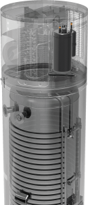 Calentador de agua con bomba de calor de fuente de aire 3