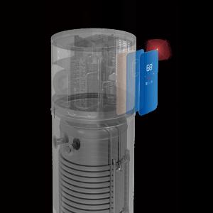 Calentador de agua con bomba de calor de fuente de aire 5