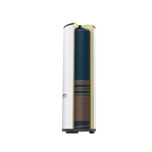 External Copper Coil Water Tank