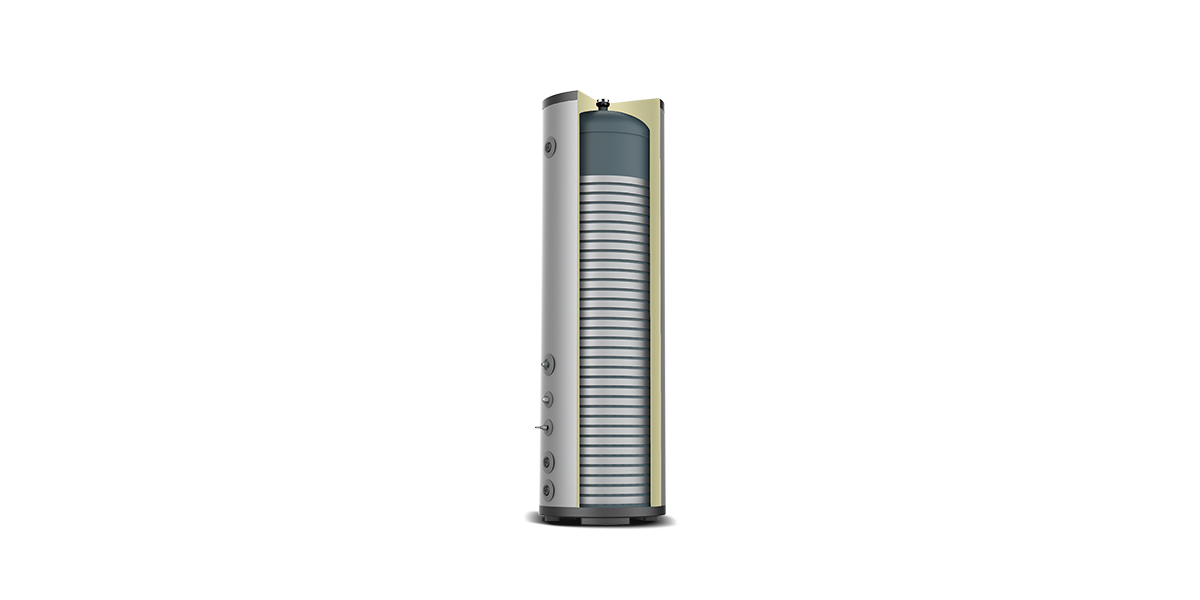External Micro-Channel Coil Water Tank