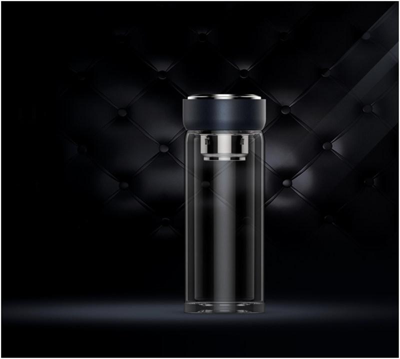 Высококачественный деловой вакуумный жаропрочный стакан воды Шотта из стекла