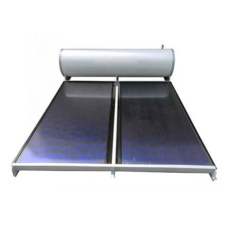 Rooftop Low Pressure Evacuated Tubes Solar Water Heater
