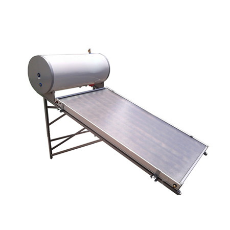 Rooftop Low Pressure Vacuum Tube Stainless Steel Solar Water Heater