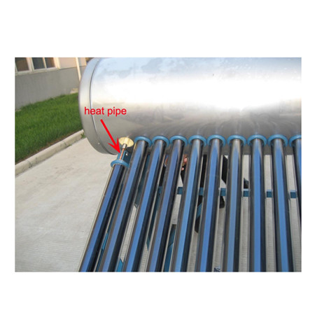 300liter Compact Non-Pressurized Evacuated Glass Vacuum Tube Solar Powered Hot Water Heater