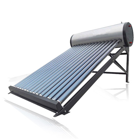 Pressurized Non Pressure Solar Hot Water Heaters Solar Pipes Solar Geyser Solar Vacuum Tubes Solar Panel with Solar Keymark En12976