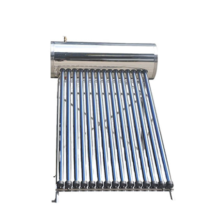 Low Pressure Stainless Steel Solar Hot Water Heater
