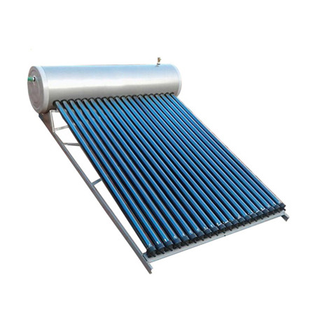 Non Pressurized Solar Water Heater with Flat Plate Solar Collector 300L SS304 -2b Water Tanker and Aluminum Alloy Corrosion Proof Support Rack