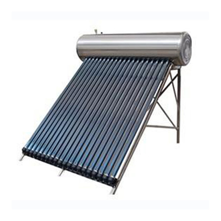Solar Water Heater with Zijin Vacuum Solar Collector Tube 300L SS304 -2b Water Tanker and Aluminum Alloy Corrosion Proof Support Rack