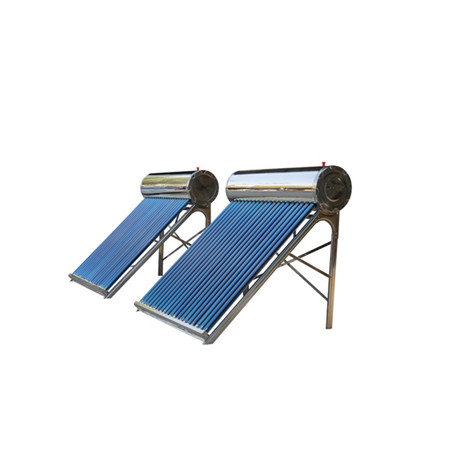 Made in China Rooftop Non-Pressure Solar Water Heater for Home Use 100L 150L 200L 250L Solar Water Heater with ISO, Ce, Solar Keymark
