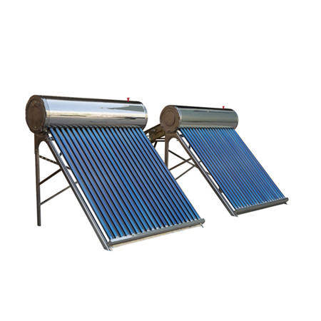 Ce Chinese Factory Stainless Steel Compact Pressurized Non Pressure Heat Pipe Solar Energy Water Heater Solar Collector Vacuum Tubes Solar Spare Parts