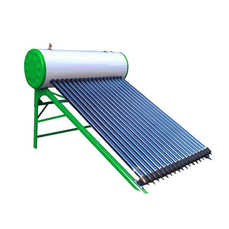 Evacuated Tube Solar Collector System