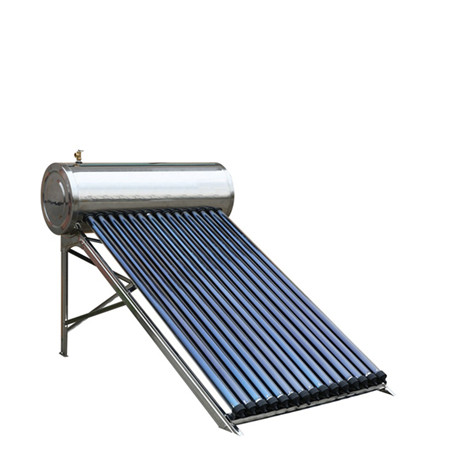 High Pressure Integrated Solar Water Heater with Heat Pipe Tubes