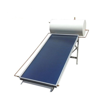 300L High Pressure Copper Heat Pipe Evacuated Tubes Solar Water Heater
