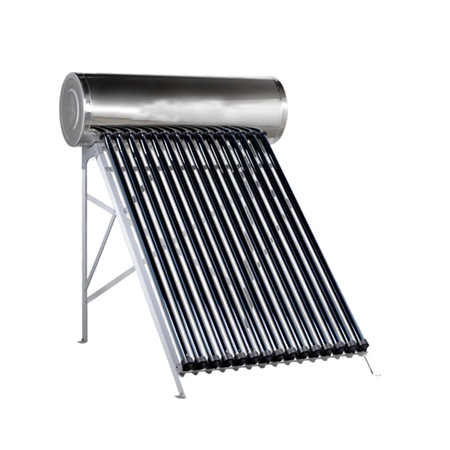Split Pressurized Solar Water Heater with Double Coil