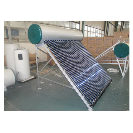 Integrated Non Pressure Solar Thermo Water Heater with Stand Frame for Slope Rooftop