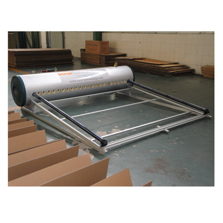 Rooftop Stainless Steel Solar Water Heater with Flat Plate Solar Collector and High Density Polyurethane Tank
