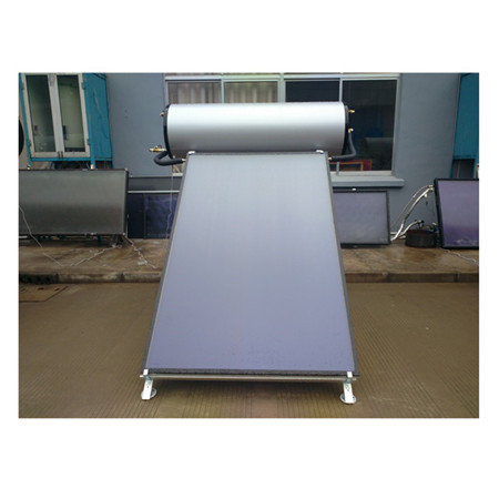 300L High Output Pressurized Flat Plate Solar Water Heater for Rooftop
