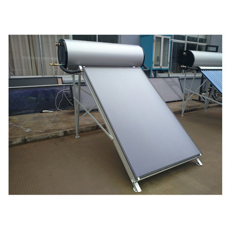 Lower Pressure Solar Water Heater with Zijin Vacuum Solar Collector Tube 300L SS304 -2b Water Tanker and Aluminum Alloy Corrosion Proof Support Rack