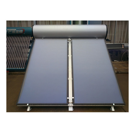 Flat Plate Solar Panel Solar Hot Water Heater System for School Heating