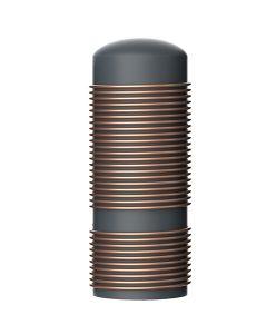external cooper coil inner tank