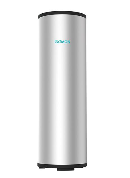 externe koperen batterij warmtepomp watertank